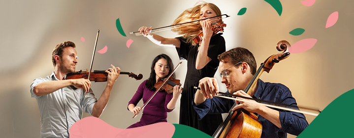 Doric String Quartet - Conservatorium Theatre, Queensland Conservatorium Griffith University - Tickets
