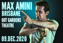 Max Amini Live in Brisbane - 2020 World Tour