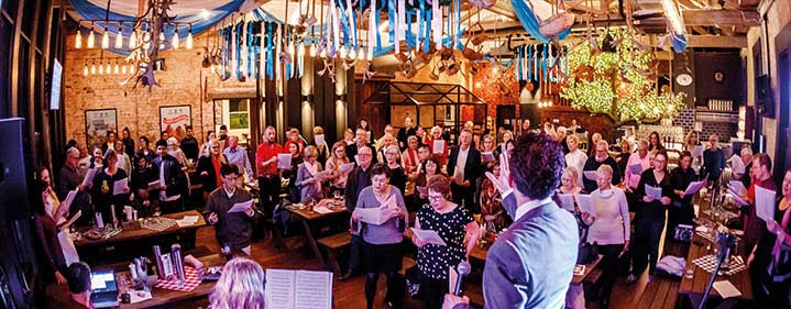 Sing Sing Sing Workshop - South Bank Precinct - Tickets