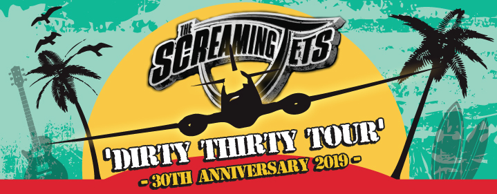 The Screaming Jets - Gympie Civic Centre, Gympie - Tickets