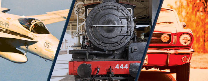 Planes, Trains & Autos - The Workshops Rail Museum, North Ipswich - Tickets