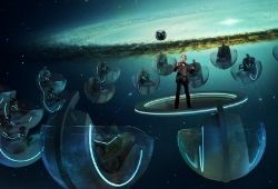Exploring Hyperspace: A Virtual Reality Experience