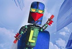 Laser Beak Man