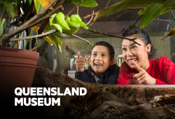 Queensland Museum Free timed-ticket entry