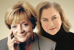 Dame Maggie Smith and Kathleen Turner in conversation with Gyles Brandreth