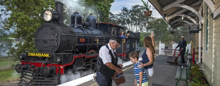 Ipswich Express (Museum entry & Train ride) - The Workshops Rail Museum, North Ipswich - Tickets