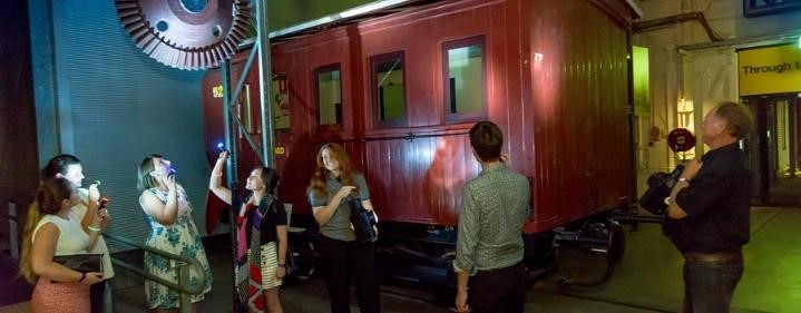 Torchlight Tours - The Workshops Rail Museum, North St, North Ipswich - Tickets