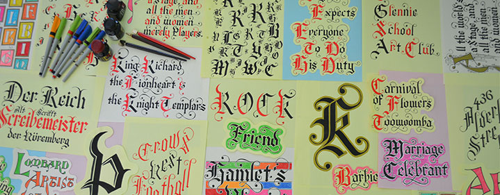 Calligraphy Workshop - Cobb+Co Museum, Toowoomba - Tickets