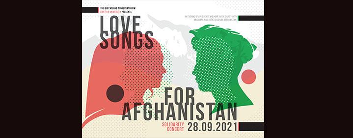 Love Songs for Afghanistan - Ian Hanger Recital Hall
